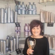 Kirsty with her 2009 Trainee Award