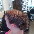 Platted Prom Hair